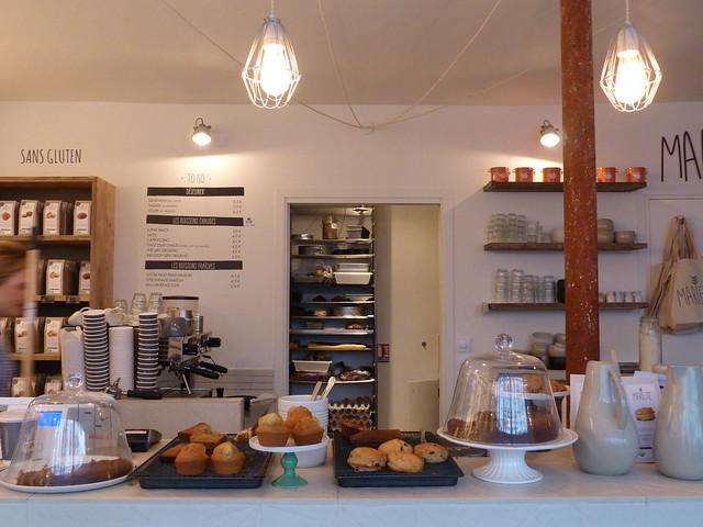 Café Marlette counter