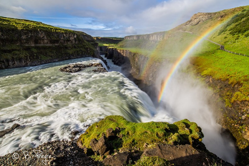 Iceland - Rainbow on Gullfoss