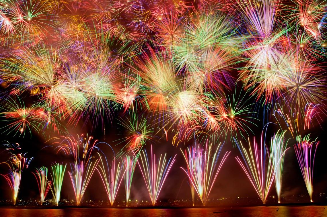 江戸川花火大会 (EDOGAWA FIREWORKS FESTIVAL)