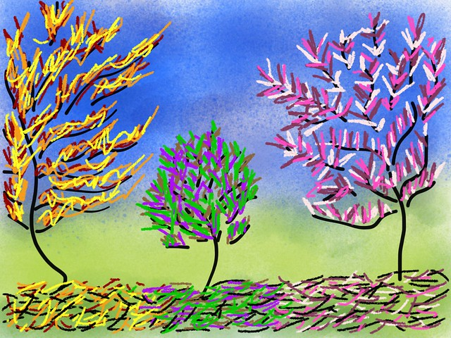 Three Types of Trees