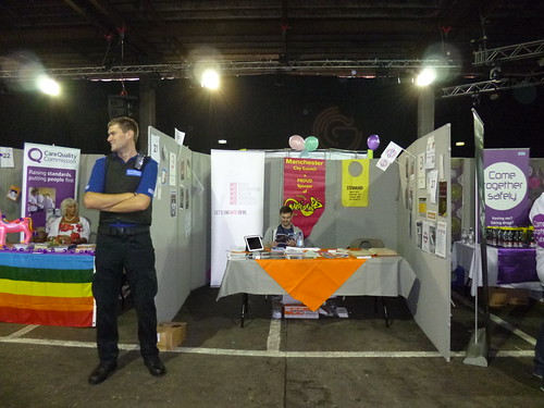 Pride 2013, Manchester City Council stall