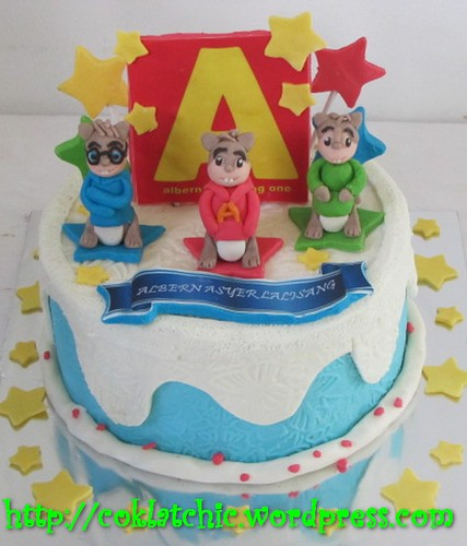 Cake Alvin and the Chipmunks