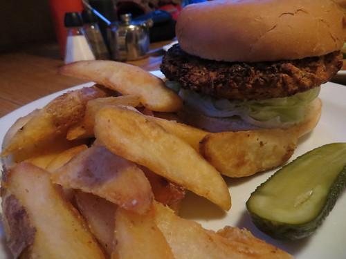 laundromat veggie burger