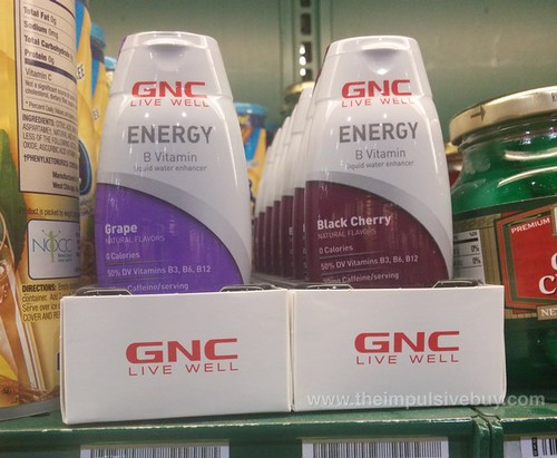 GNC Energy B Vitamin Liquid Water Enhancer