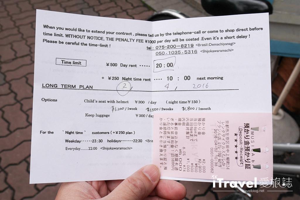 京都脚踏车出租 Rent a cycle EMUSICA (11)