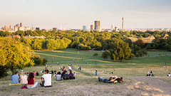 Primrose Hill viewpoint