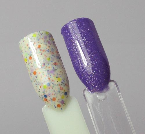 Crazy Polish Lady - Sand In My Flip-Flops & Violet Hills