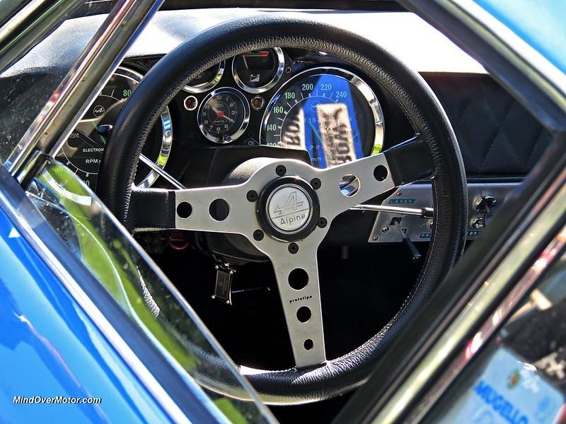 Renault Alpine Steering Wheel