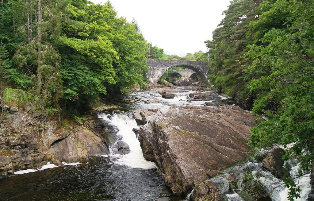 La rivière Moriston