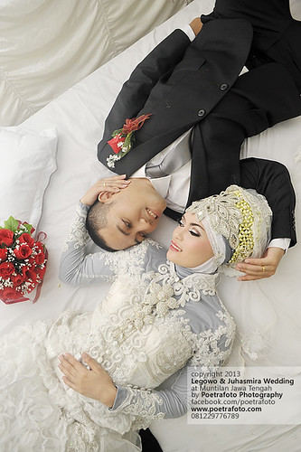 Foto WEDDING Pengantin MUSLIM Juhasmira+Legowo by Wedding PHOTOGRAPHER Jogja by Fotografer Pernikahan Pre Wedding Jogja Yogyakarta