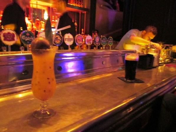 The Dublin Flame at the ODEON Nite Bar, Dublin