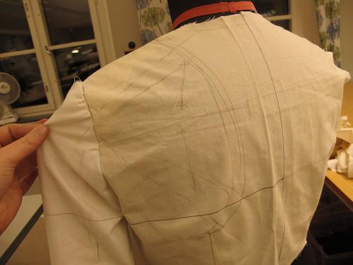 My gray Charles de Blois dress - 1