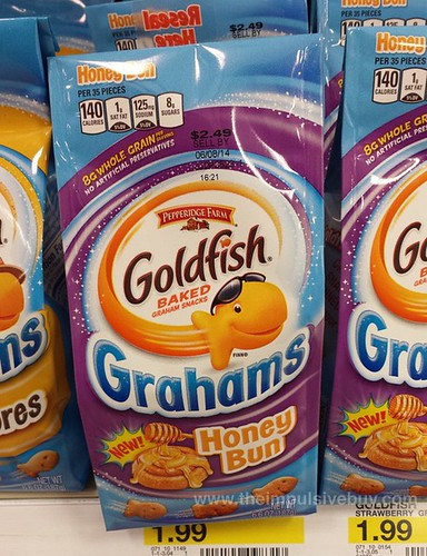 Pepperidge Farm Honey Bun Goldfish Grahams