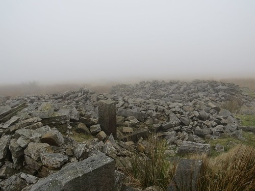 Ruin on the moor.