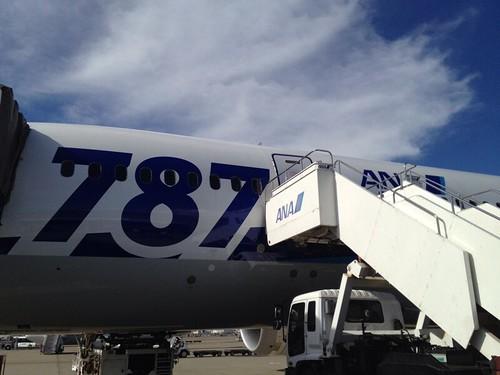 ANAラウンジとボーイング787が登場。岡山-東京間は飛行機が快適 ...