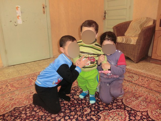 Basma Arif's Three Children
