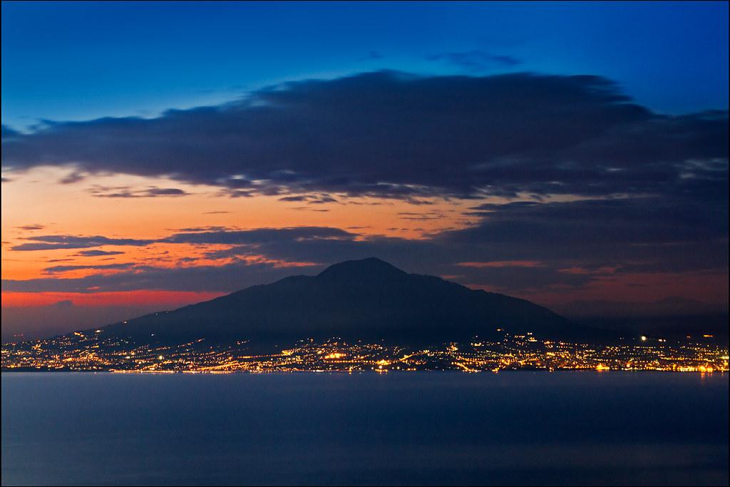 Elevation of Capri Metropolitan City of Naples Italy