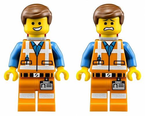 The LEGO Movie 70810 MetalBeard's Sea Cow Figures Emmet