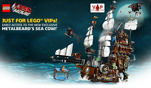 70810 MetalBeard's Sea Cow Shop-at-Home VIP