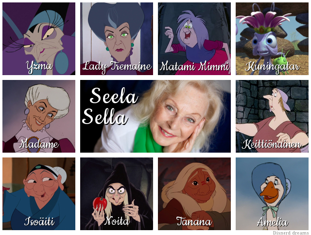 Suomalaiset dubbaajat: Seela Sella - Disnerd dreams