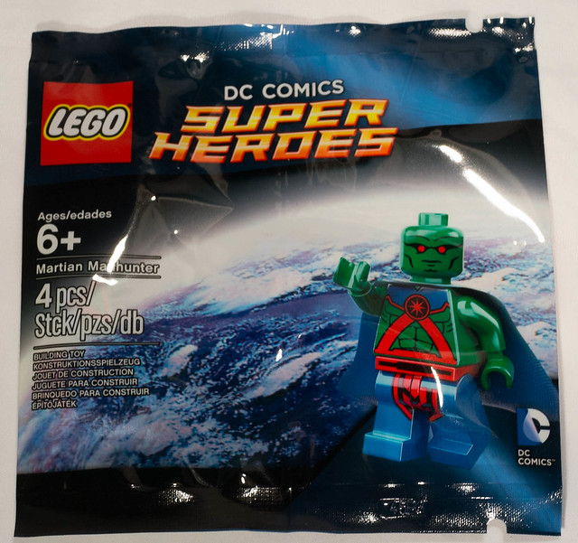 REVIEW LEGO Polybag Martian Manhunter