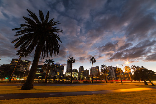 Perth, Western Australia, Short Exposure, Sunrise by Brendan Davey