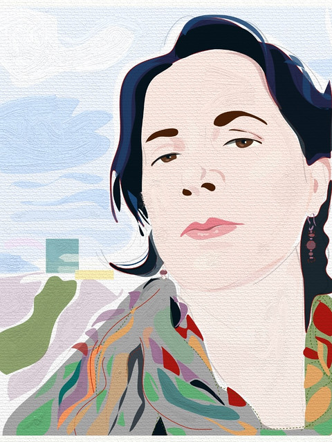 Portrait Of Ilza- Artrage Version