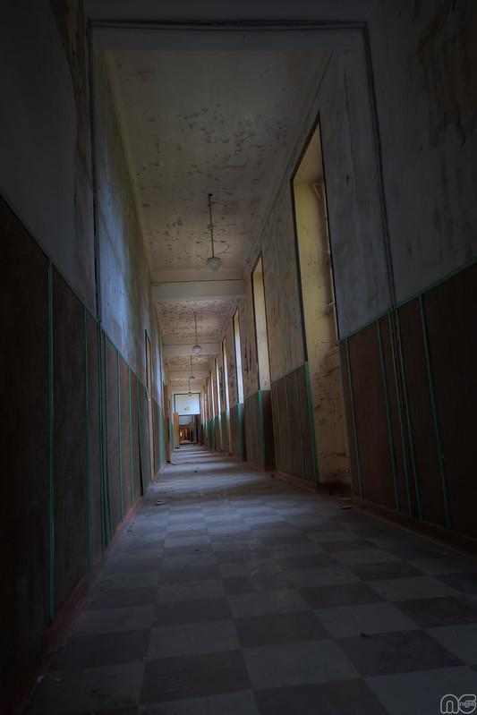 couloir damier