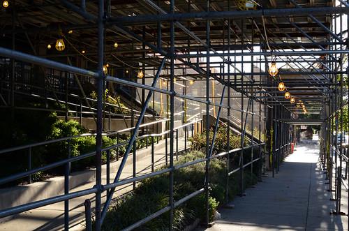 Scaffold rental, scaffolding rental, sidewalk shed, overhead protection, canopy, swing, suspended scaffold, Philadelphia, PA