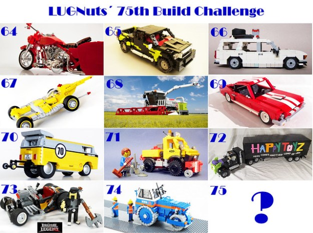 Freakin' Balls-Out Sweet 75th LUGNUts Challenge Extravaganza!