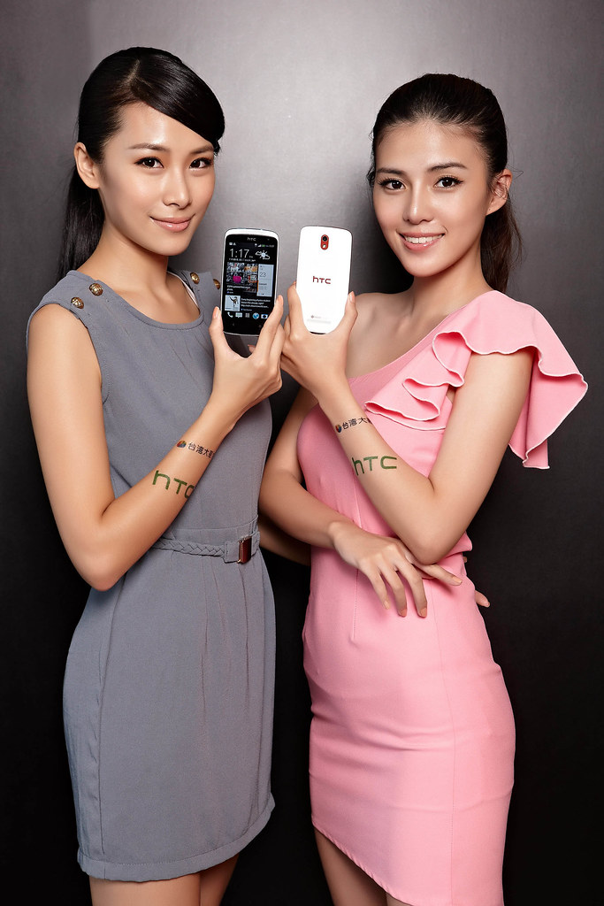 HTC Desire 500在黑與白經典時尚色融入精緻設計思維,讓沁冰藍、緞帶紅與漆光黑詮釋年輕人青春本色