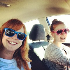 #GingerRoadTrip stuck in traffic yet we're nowhere near a city? Does not compute.