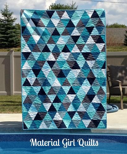 Bermuda triangle quilt