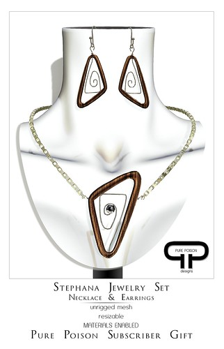 Pure Poison - Stephana Jewelry Set - Subscriber Gift