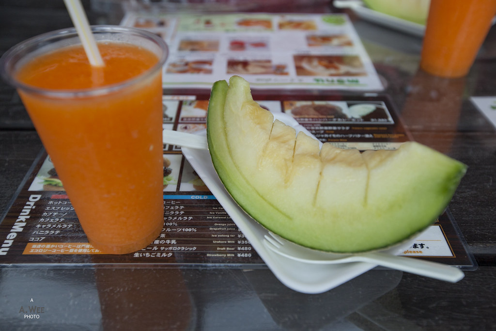 Melon and Rockmelon Juice