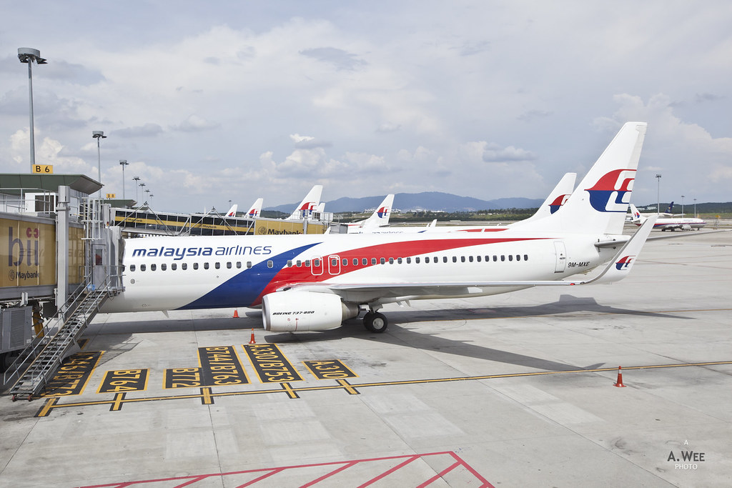 Fleet of MH's 737-800