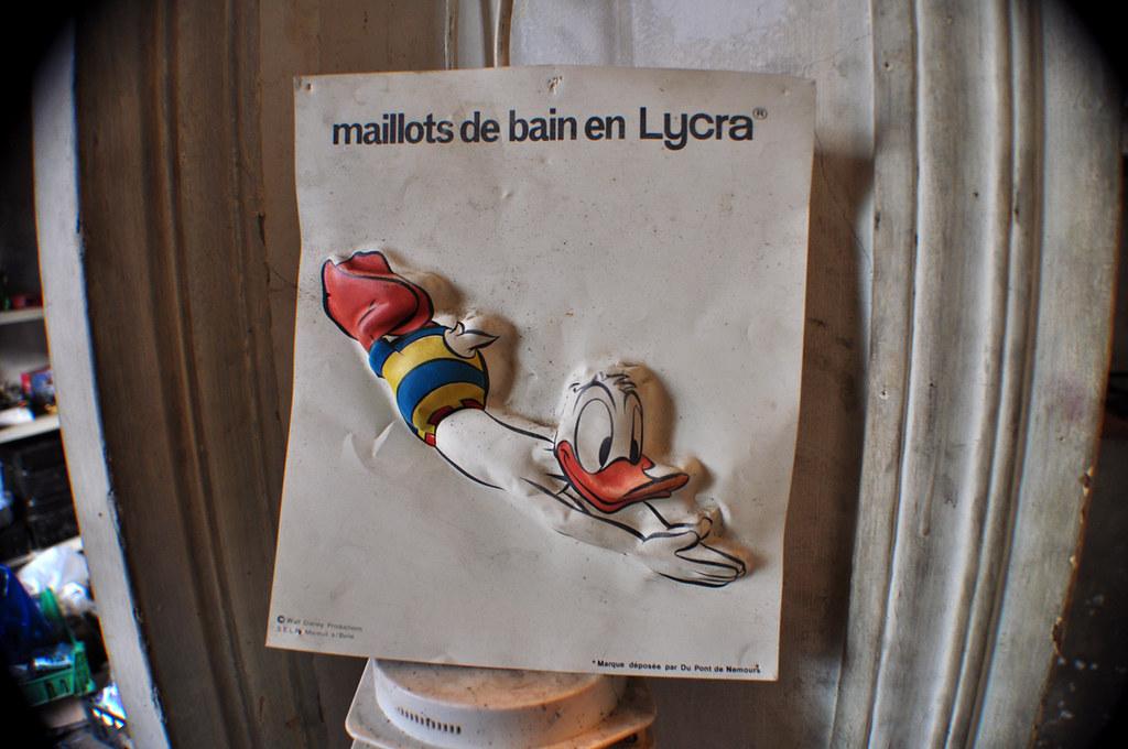 Donald et les Maillots de Bain en Lycra