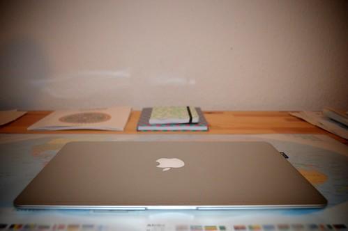 Day 16: My desk by Madeleine Winnett