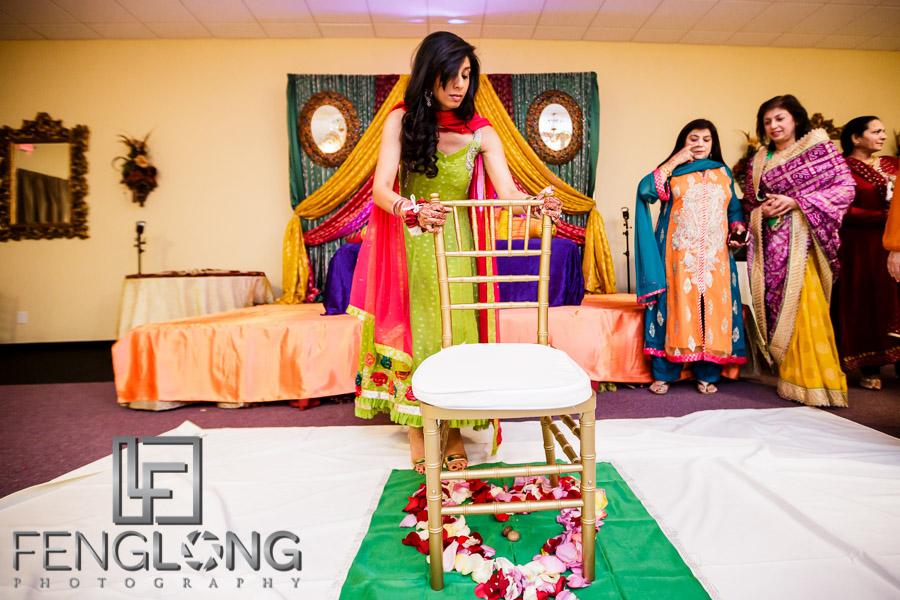 Shai & D's Garba & Pithi Night | Mughal's Banquet Hall | Atlanta Hindu Ismaili Fusion Wedding Photgraphy