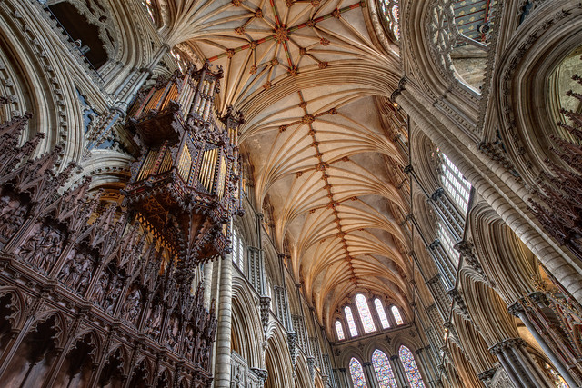 Ely Cathedral - HDR 'Natural' and 'Enhanced' Presets Blended