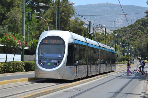 Athens Trams S.A. Tram TA10001 - Athens, Greece