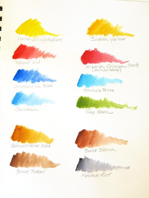 A Twelve Color Palette