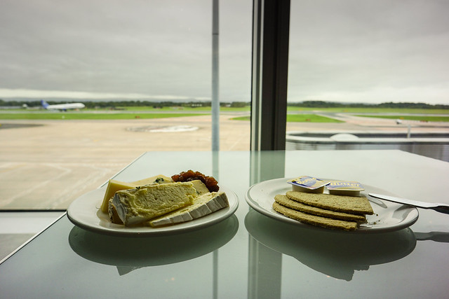 BA Exec Lounge in Manchester