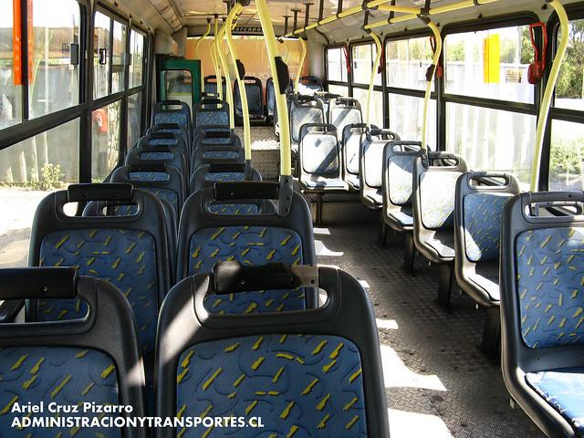 Transantiago - Comercial Nueva Milenio / Buses Vule - Marcopolo Torino / Mercedes Benz (VT9821)