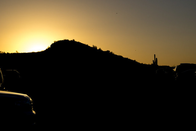 1306 Sunset at McDowell Mountain Park