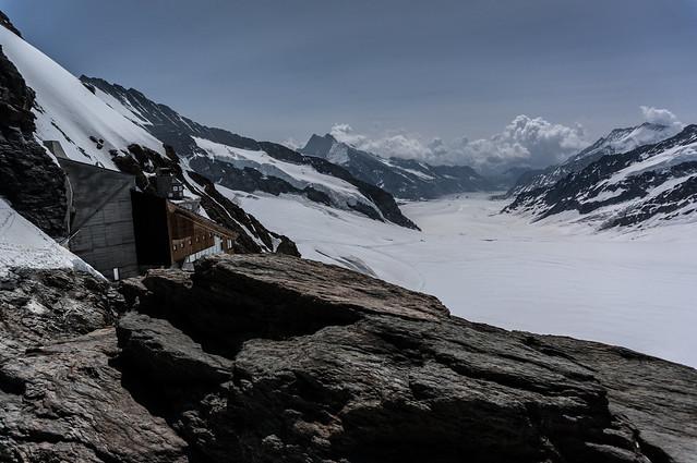 Jungfraujoch - Aletsch Glacier (Plateau View)