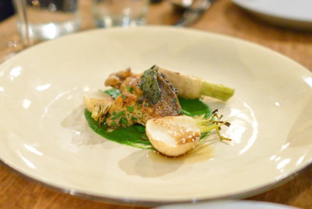 monterey bay abalone with turnip (rustic canyon)