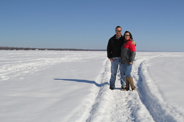 A trip to Fort Drum NY to visit with my hubby had many chances to play in the snow, or on the frozen lake!