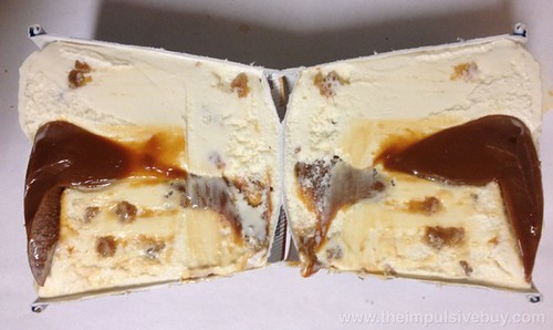 Ben & Jerry's Salted Caramel Core Ice Cream Core Middle