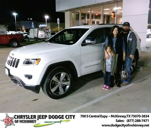 Thank you to Suzanne Noe on your new 2014 #Jeep #Grand Cherokee from David Walls and everyone at Dodge City of McKinney! #NewCar by Dodge City McKinney Texas